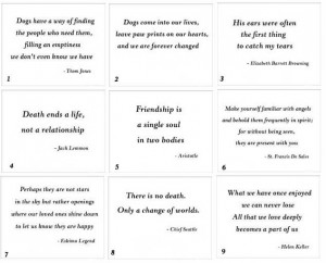 dog loss quotes | quotes about losing your pet