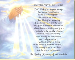 religious memorial poems | ... poem to create a special keepsake in ...