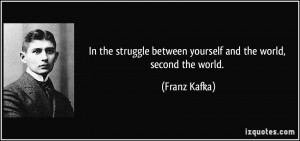 More Franz Kafka Quotes
