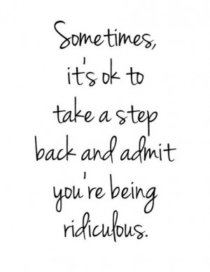 Take a Step Back Quotes