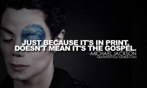 Michael Jackson MJ Quotes