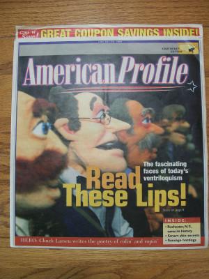 AMERICAN PROFILE MAGAZINE , June 2026, 2004.