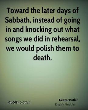 geezer butler geezer butler toward the later days of sabbath instead
