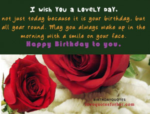 Happy birthday quotes and sayings for her ( Girlfriend or wife) | Love ...