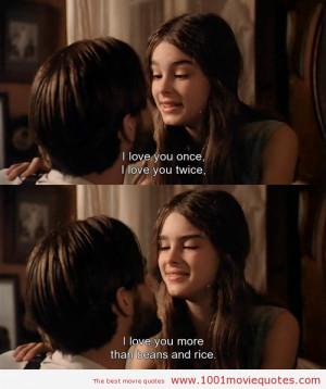 Pretty Baby (1978) - movie quote