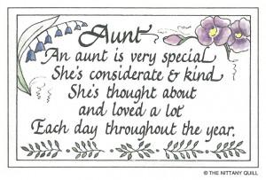 Aunt Quotes For Facebook