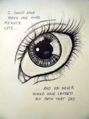 ... strong #timing is everything #doodle #quotes #love quote #eyes #eye