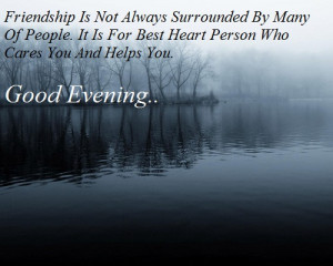 Good Evening Quotes Graphics