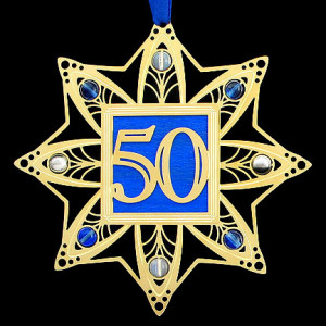 50th Anniversary Ornament - Click to Personalize