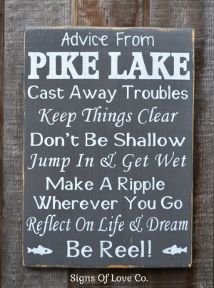 house décor, river signs, advice from a river poem, quotes, sayings ...