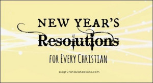 New Year's Resolutions for Every Christian