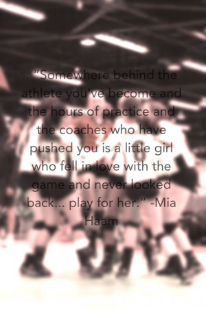 Mia Hamm Quotes Play For Her Volleyball This is great and all but mia ...