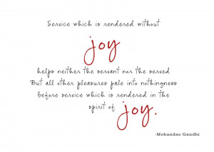 ... it quite fitting for my acronym of joy. Have a blessed week everyone