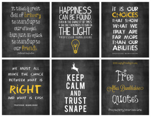 ... share some free Harry Potter-ish style Quotes with y'all