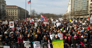 "We Will Have Justice"": Tens of Thousands March in Day of Resistance ..."