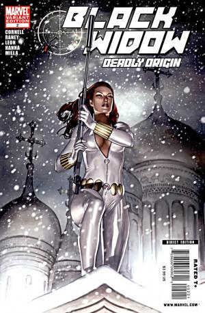 Black Widow Deadly Origin Vol 1 2 White Costume Variant.jpg