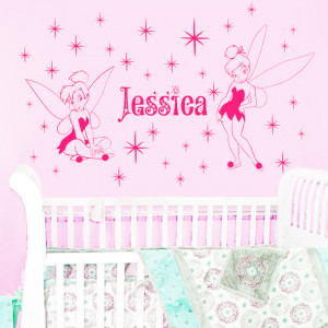 Leave personal name in order)Fairies Name TINKERBELL DIY-Say Quote ...