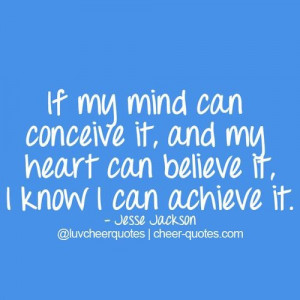 Cheerleading quotes, inspiring, motivational, sayings, jesse jackson
