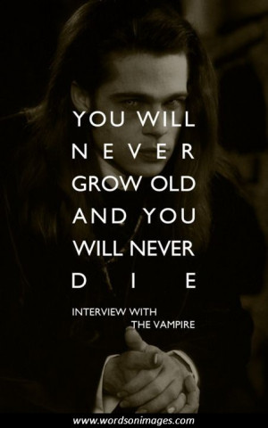 Interview with a vampire quotes