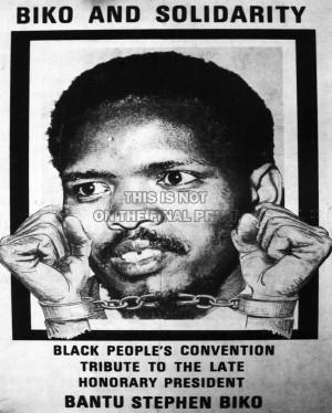 Steve Biko Political steve biko anc