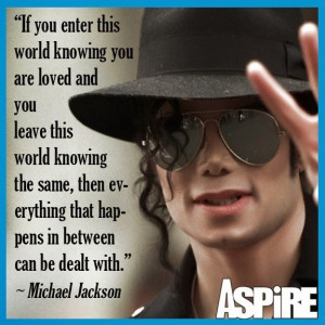 Inspirational Quote: Michael Jackson