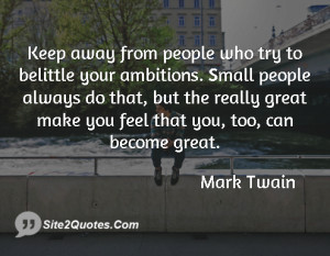 Inspirational Quotes - Mark Twain