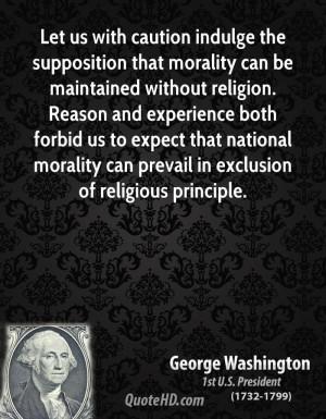 GEORGE WASHINGTON ANTI CHRISTIAN QUOTES