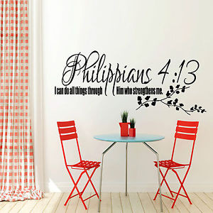 ... 13-Bible-Quote-Wall-Sticker-Christian-Religion-Bedroom-Vinyl-Decal
