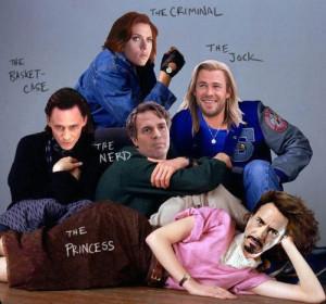 The Avengers Club…