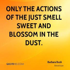 Barbara Bush Top Quotes
