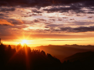 Mountain Sunrise Wallpaper 10061 Hd Wallpapers