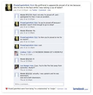 ha ha ha classic facebook drama