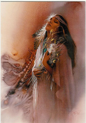 native american indians | Beautiful Native American Woman Birthday ...