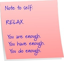 ways to relieve stress...
