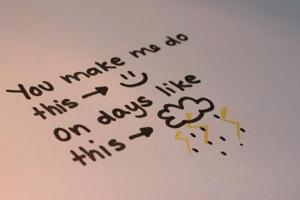 cute, happy, happy happy, love, pretty, quote, quotes, rain