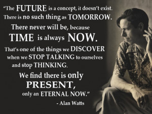 In one of the most famous Alan Watts lectures the philosopher asked ...