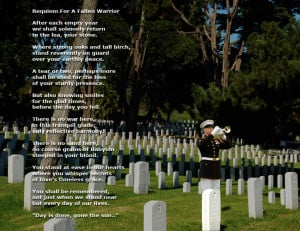 Fallen Soldier Poems and Quotes http://jbstillwater.com/DisplayPoem ...