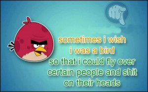 Related Pictures bird shit funny quotes