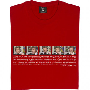 Kevin Keegan I'd Love It Quote V-Neck Black Men's T-Shirt. Celebrating ...