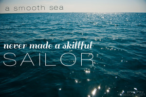 Skillful Sailor Quote