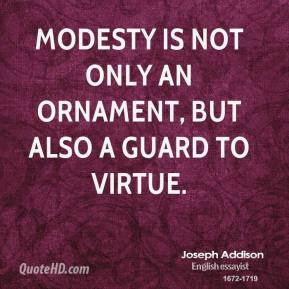 Modesty Quotes