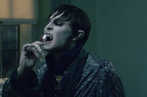 ... as Barnabas Collins in Warner Bros. Pictures' Dark Shadows (2012