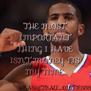 Chris Paul Basketball Quotes
