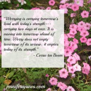 Wisdom from Corrie ten Boom - Week 2 - jenniferajanes.com