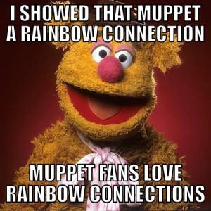 Muppets Meme. Fozzie bear