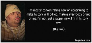 More of quotes gallery for Big Pun's quotes