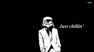 Just chillin' Stormtrooper wallpaper 1920x1080