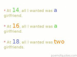 Hilarious Teenage Birthday Quotes