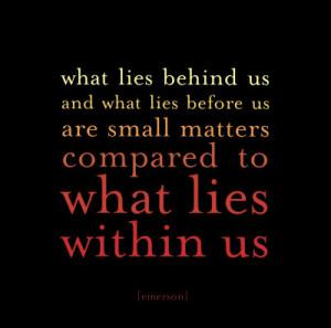 Emerson Self-Reliance Quote