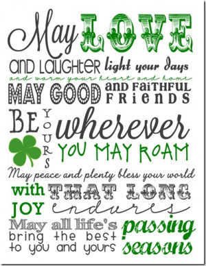You may have heard these Irish blessings repeated during a St. Patrick ...